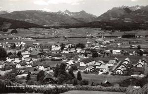 Vintage Austria Real Photo Postcard, Sommerfrische Tamsweg im Langau 1024m W54