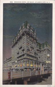 New Jersey Atlantic City Breakers Hotel By Night Curteich