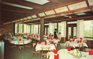 Postcard Dining Room Carter Cave State Resort Park Olive Hill Kentucky
