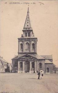 L'Eglise, Le Portel, Pas-de-Calais, France, PU-1923