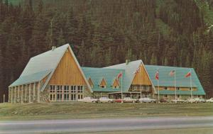 Exterior, The Northlander Motor Lodge,  Summit,  Rogers Pass,  B.C.,  Canada,...