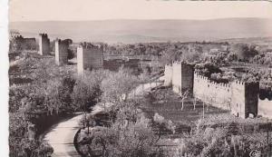 RP; Tlemcen , Algeria , Anciens Remparts de Mansourah, Algeria, 30-40s