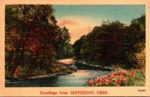 Ohio Greetings From Jefferson