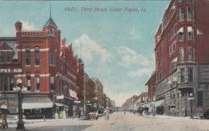 CEDAR RAPIDS , Iowa , 1913 ; Third Street