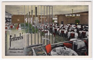 Chicago, Illinois, Fritzel's Restaurant