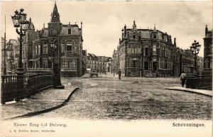 CPA SCHEVENINGEN Nieuwe Brug b/d Duinweg NETHERLANDS (602143)