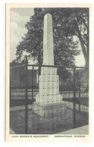John Brown´s Monument, Osawatomie, Kansas, 00-10s