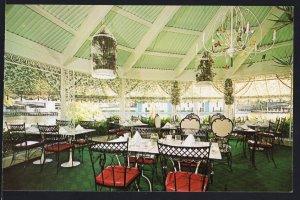 Florida ~ Creighton's Restaurant Interior FORT LAUDERDALE Chrome 1950s-1970s