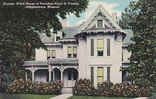 Summer White House Of Harry S Truman Independence Missouri