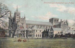 PETERBOROUGH , England , PU-1906 ; Cathedral & Palace