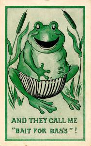 Humor - And they call me bait for bass (Frog)