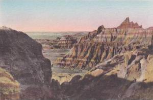 South Dakota Badlands Ocean That Never Saw Ships Badlands National Monument A...