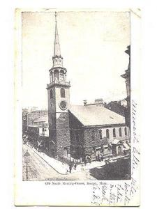 B&W Old South Meeting House, Boston, Massachusetts, Metropolitan News Co, Fla...