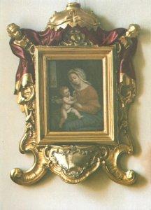 Postcard Religion Marienbild in Schwesternchor Maria Stern Augsburg