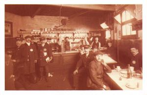 Nostalgia Postcard London Motorbus Canteen 1911 Reproduction Card NS33