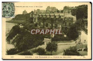 Old Postcard Dinard Les Terrasses And The Pointe Du Reel