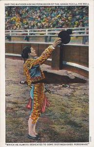 The Matador Asking Permission Of The Judges To Kill The Bull, 1900-1910s