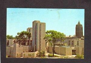 CT Ezra Stiles College Yale University New Haven Connecticut Conn Postcard