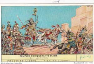 Liebig S1734 Conquering Nations Of Asia No 2 Les Assyriens