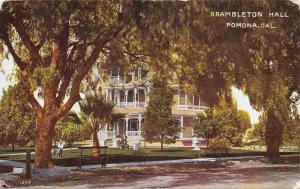 Pomona California~WH Schureman Home~Brambleton Hall~Kids & Dog~1910 PC