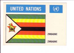 Zimbabwe, Flag, United Nations,