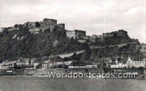 Festung Ehrenbrelstein Koblenz Germany Unused