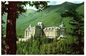 Lot 2 Banff Springs Hotel Canada Postcard