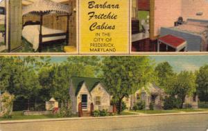 Barbara Fritchie Cabins,Frederick, Maryland,PU-1950