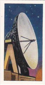 Amaran Tea Trade Card 20th Century Science No 20 Radio Telescope
