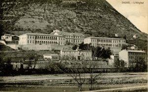France - Digne. Hospital