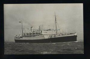 LS2107 - New Zealand Shipping Co Liner - Rangitata - postcard