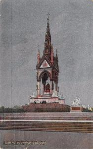 Very Nice 1907 Vintage Postcard Albert Memorial London