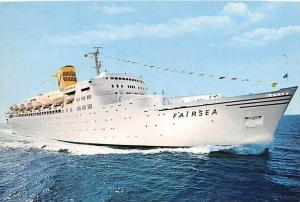 S.S. Fairsea   Sitmar Cruises
