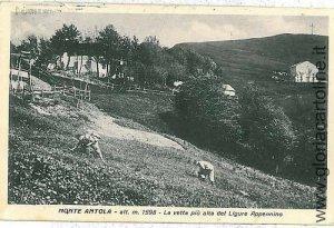00065  CARTOLINA d'Epoca: GENOVA - MONTE ANTOLA