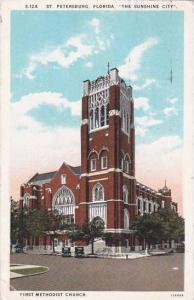 Florida Saint Petersburg First Methodist Church 1933