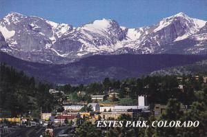 Colorado Estes Park Aerial View
