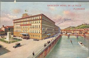 Italy - Excelsior Hotel de La Ville Florence 02.90