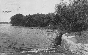 ALBERT LEA, MINNESOTA FOUNTAIN LAKE RPPC REAL PHOTO POSTCARD