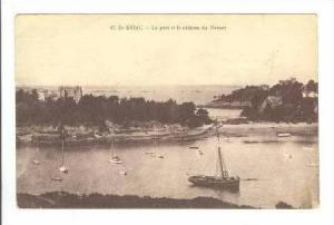 Boats, Harbor View, St-BRIAC, France, PU 1915