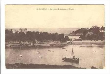 Boats, Harbor View, St-BRIAC, France, PU 1915