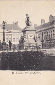Belgium Brussels Place des Martyrs
