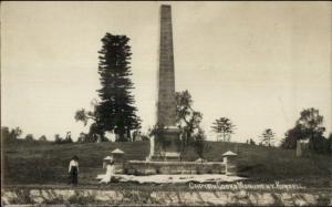 Obelisk Captain Cook Monument Kurnell Australia c1910 Real Photo Postcard