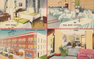 FAYETTEVILLE , Arkansas, 1930-40s ; Mountain Inn Hotel