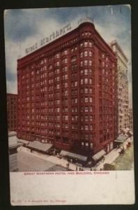 Great Northern Hotel and Building Chicago V.O. Hammon Pub 178 1912