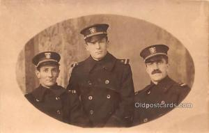 Military Real Photo Post Cards Old Vintage Antique Soldier, Army Men Unused