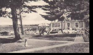 Maine East Sebago West Shore Hotel & Cottages At The Dining Room Center Alber...