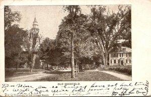 Massachusetts Deerfield Town Scene 1908