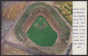 Jehovah's Witnesses,Yankee Stadium,New York,NY Postcard