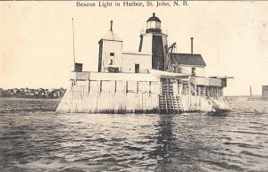 Beacon Light in Harbor