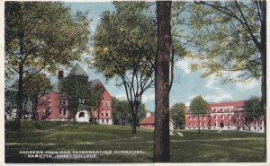 MARIETTA, Ohio, PU-1915; Andrews Hall And Fayerweather Dormitory, College